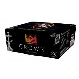 Вугілля кокосове Crown 22 мм 96 кубиків