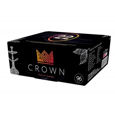 Уголь кокосовый Crown 22 мм 96 угольков