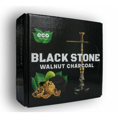 Ореховый уголь Black Stone 1 кг 72 уголька