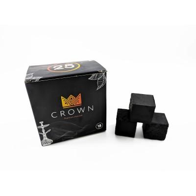 Кокосовый уголь Crown 18 шт маленькая пачка