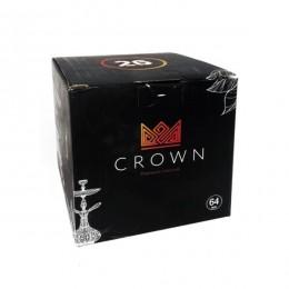 Уголь кокосовый Crown 26мм 64 уголька