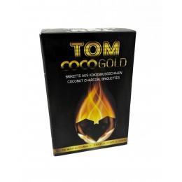 Уголь кокосовый Tom Coco GOLD 72 уголька