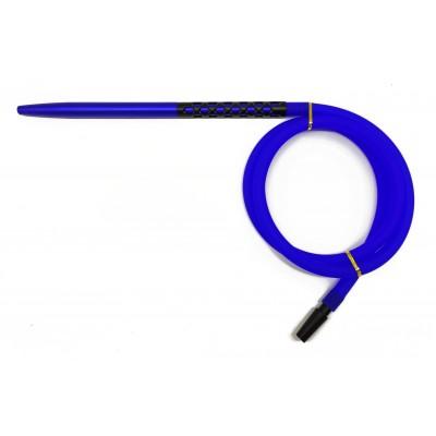 Силіконовий шланг для кальяну шланг Moon Soft Touch синій