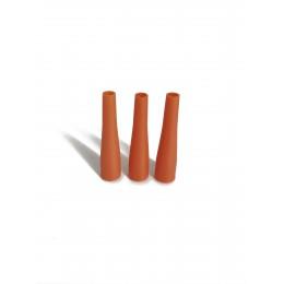 Мундштуки длинные XXL Оранжевые