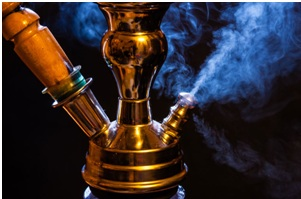 Кальян и дым