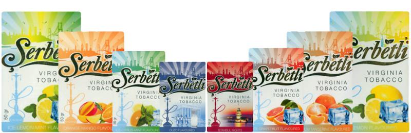 Турецкий табак Щербетли